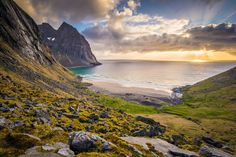 Kvalvika the Beautiful by Basil Greber on 500px (Kvalvika Beach - Lofoten Islands, Norway)