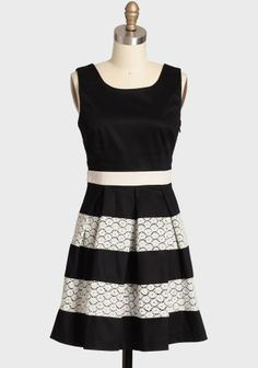 Black and white tank dress - more → http://fashiononlinepictures.blogspot.com/2012/05/black-and-white-tank-dress.html