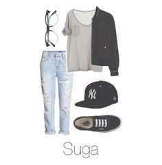 BTS Suga/Yoongi Snapback outfit @BTSOufits