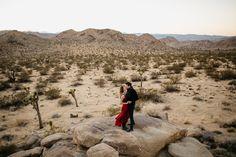 Joshua Tree National Park Elopement Love Engagement Martina Micko Photo