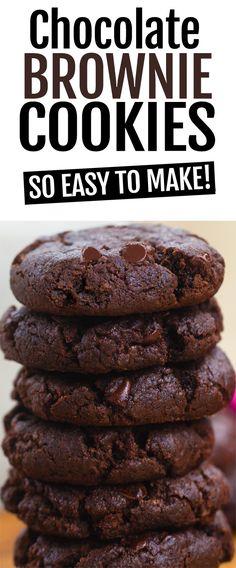 Vegan Chocolate Brownie Cookie Recipe
