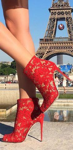 Dolce & Gabbana Lace Heels