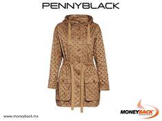 No encontrarás nunca otra chamarra como ésta, fue diseñada por Pennyblack en poliéster con un estilo de perforaciones en tela y bordados en rombo. Cuenta con cinturón de ajuste en la cadera y bolsos tipo parche. Compra en Pennyblack ¡y obtén tu devolución de impuestos en nuestro módulo! #Pennyblack