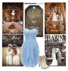 """""""Barn wedding best dressed guest!"""" by chalsouv ❤ liked on Polyvore featuring Marc Jacobs, bestdressedguest and barnwedding"""