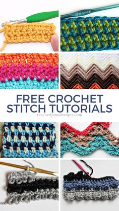Crochet Stitch Tutorials Crochet Stitch Tutorials,Crochet Stitches & Crochet Tutorials Learn over crochet stitches to help you on your crochet journey! These different crochet stitch patterns are perfect for blankets, hats and much. Different Crochet Stitches, Crochet Stitches For Blankets, Crochet Stitches Free, Crochet Stitches For Beginners, Stitch Crochet, Crochet Gratis, Single Crochet Stitch, Tunisian Crochet, Crochet Basics