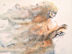watercolor work by camilo botero