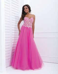 Tony Bowls Paris 114718 prom dress available in Turquoise; Fuchsia;