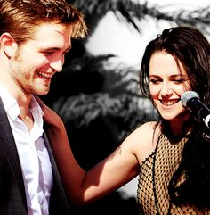 Robsten Dreams: Robsten Pic of the Day ~ Such a happy day. You could feel the love! -- Hand print Ceremony, Nov 2011
