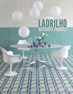 Delicate blue details. #dining #decor #interior #design #casadevalentina