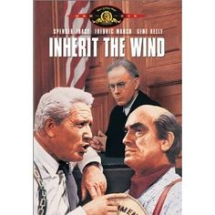 """""""Inherit the Wind"""" starring Spencer Tracy, Fredric March, Gene Kelly, and Dick York (1960)"""