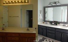 Master Bathroom Makeover DIY Ideas-Master Bathroom Makeover DIY Ideas: cabinets - Diy Crafts You & Home Design Large Bathrooms, Dream Bathrooms, Small Bathroom, Master Bathroom, Washroom, Diy Bathroom Decor, Bathroom Interior, Bathroom Ideas, Bathroom Storage