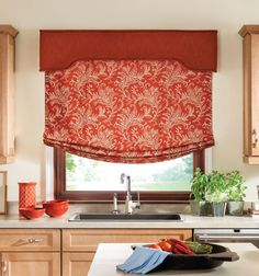 Shop Bali custom tailored Roman shades for your perfect window treatments. Bali Tailored Roman Shades make DIY style easy. Home Improvement Projects, Home Projects, Furniture Projects, Sewing Projects, Roman Shades Kitchen, Valances For Living Room, Relaxed Roman Shade, Kitchen Window Treatments, Kitchen Window Coverings