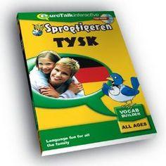 Tysk for børn - leg og lær med Sprogtigeren 225kr