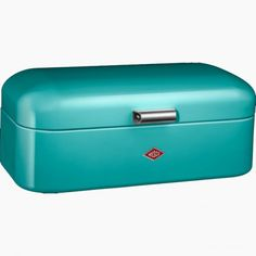 Wesco Grandy Bread Bin - turquoise | Kitchens - Cookware specialists for over 40 years