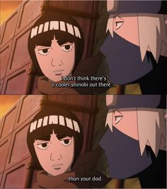 I love this!!! | Kakashi & Gai; Papa's Youth - Naruto: Shippūden E419