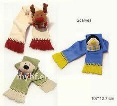 bufandas para niños de polar , Buscar con Google