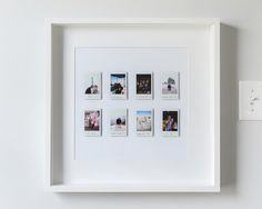 A Fun and Easy Instant Photo Display | Yellow Brick Home