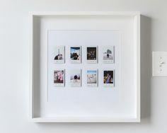 Fotos schön anordnen - DIY-Deko kreativ criativas quartos casal Creative Polaroid Picture Display Inspirations - The Urban Interior Polaroid Pictures Display, Polaroid Display, Display Pictures, Photo Polaroid, Polaroid Frame, Polaroids, Instax Frame, Polaroid Crafts, Instax Wall
