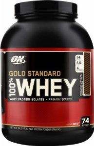 Optimum Nutrition 100% Whey Gold Standard, Double Rich Chocolate 2 Pound.  Click to read more....