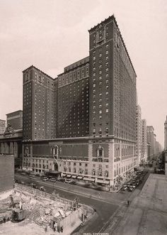How a New York City Train Station Changed Midtown East: 1919 - Hotel Commodore
