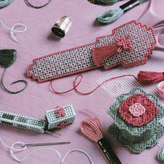 Sew dainty Sets -Dainty designs - Plastic canvas patterns & designs online - Leisure Arts