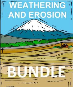 Weathering and Erosion Bundle - Innovative Teacher