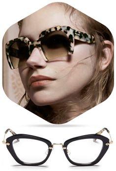 MIU MIU Miu Miu, Eye, Sunglasses, Fashion, Moda, Fashion Styles, Sunnies, Shades, Fashion Illustrations