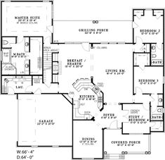 Adrianna Ranch Home Plan 055D-0210 | House Plans and More