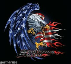 New Ideas Freedom Bird Tattoo Dreams Freedom Bird Tattoos, Eagle Tattoos, Patriotic Pictures, Eagle Pictures, Eagle Images, Harley Davidson Wallpaper, Harley Davidson Art, American Flag Eagle, American Auto