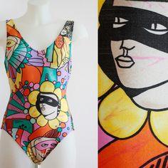 Pierre Cardin80's vintage swimsuit