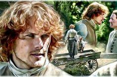 Jamie & Ian #outlander #jamiefraser #samheughan #ianmurray #stevencree…