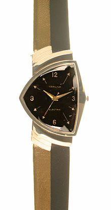 January 3, 1957 – Hamilton Watch Company introduces the first electric watch  Hamilton Ventura, 1957