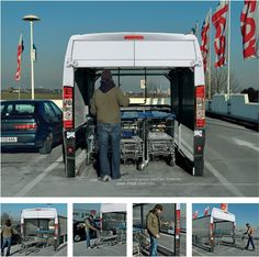 Mídia Alternativa - Fiat Ducato  Creative Ambient Advertising