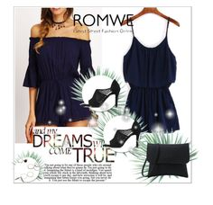 """""""Romwe"""" by maidaa12 ❤ liked on Polyvore featuring Agave"""