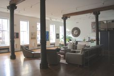 Tribeca on a grand scale....... 9,000 sq ft loft. Gorgeous light, balcony walkway in living room, master bedroom and bathroom. Pool table, shootable kitchen. Small events, product launches, etc are possible. To see more go to http://properlocations.com/nyc0460/