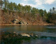 William Christenberry, Cahaba River, Alabama, December 1999 William Christenberry, Cahaba River, American Artists, Rivers, Alabama, Original Artwork, Photographers, December, Landscape