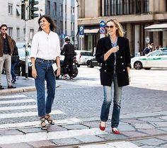 vogueparis Saturday smiles in Milan