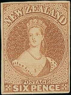 Spink UK / The 'Pegasus' Collection of Important Classic New Zealand - / The Chalon Issues / Lot The Chalon Issues Richardson Printings on Soft White or Hard Paper, Imperforate Old Stamps, Queen Victoria, Ephemera, Mad, The Past, Auction, Money, Antiques, Artwork