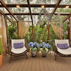 Outdoor Patio Designs, Pergola Designs, Patio Ideas, Pergola Swing, Pergola Plans, Courtyard Design, Garden Design, Hot Tub Gazebo, Gazebos