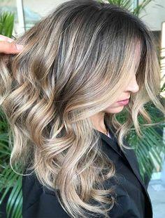 Get Inspiration Stunning Ideas of Dark Blonde Hairstyles 2018