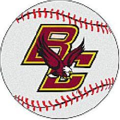 separation shoes ddaea f3ab8 Fanmats Boston College Eagles Baseball-Shaped Mat