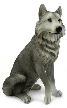 Bring your home or cabin to life with this stunning Dakota Wolf statue. You will be astonished by the incredible detail captured from the paws to the powerful jaws of this magnificent creature. The sc Wolf Sculpture, Animal Sculptures, Horse Online, Wolf Den, Cat Drinking, Polymer Clay Art, Beautiful Artwork, Cute Art, Statue