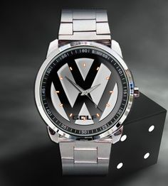 New Volkswagen VW Passat Sedan Wagon Metal Men's Watch Vw Golf R Mk7, Golf 7 Gti, Volkswagen Golf R, Vw T1, Jetta A4, Vw Emblem, Car Brands Logos, Mens Watches For Sale, Best Car Insurance