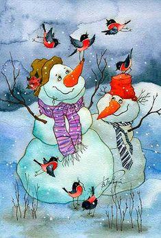 С Новым годом! Зимнего вдохновения всем нам!