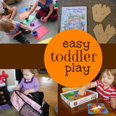 Lots of great toddler ideas!