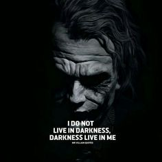 Joker Quotes : QUOTATION – Image : As the quote says – Description Sometimes it's unfortunate but ya learn to carry on. Just keep an eye out for the light, it Shines through when you least expect it. Joker Qoutes, Best Joker Quotes, Badass Quotes, Epic Quotes, Heath Ledger Joker Quotes, Joker Heath, Der Joker, Warrior Quotes, Dark Quotes