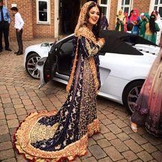 Pakistani Wedding Dress #MuslimWedding, #MuslimBridalDress www.PerfectMuslimWedding.com: