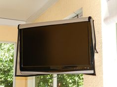 Front Opening Outdoor TV Cover. Get yours TODAY!