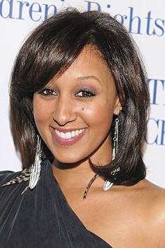 Medium: Tia Mowry    Straight from the pages of ESSENCE.com's Hot Hair issue, here are forty fab star styles — from short and sassy, to long and luscious!