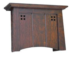 Craftsman Style Door bell Chime Cover Arts and Crafts Chime Craftsman Style Furniture, Craftsman Style Doors, Mission Style Furniture, Craftsman Decor, Craftsman Interior, Craftsman Houses, Craftsman Style Interiors, Modern Craftsman, Interior Doors